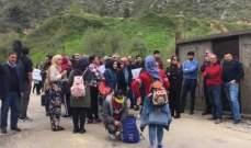 """بدء اعتصام """"كونوا ضد سد بسري"""" من على جسر بسري بمشاركة أسامة سعد"""