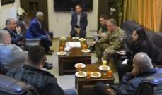 القائد العام لليونيفل زار اتحاد بلديات بنت جبيل