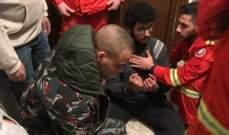 النشرة: الدفاع المدني ينقذ شاب من منور بناية في صيدا
