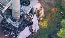 النشرة: مقتل 4 لبنانيين من بلدة يارون الجنوبية بحادث سير بولاية كاليفورنيا