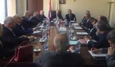 وزير البيئة التقى نواب بعبدا واتحاد بلديات المنطقة لعرض للامركزية معالجة النفايات