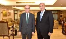 مخزومي التقى سفير اسبانيا: لتحسين الظروف المعيشية والاقتصادية