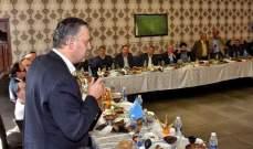 حبيش عقد لقاء موسعاً مع عدد من المحامين