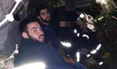 الدفاع المدني: انقاذ شابين من وادٍ في غدراس الكسروانية