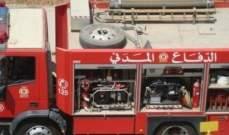 النشرة: الدفاع المدني يعمل على اخماد حريق في موقف مستشفى الشرق الاوسط