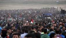 الصحة الفلسطينية: ارتفاع عدد الاصابات برصاص الجيش الإسرائيلي إلى 10 شرق غزة