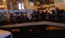 مفرزة سير بيروت الاولى تضبط 156 دراجة مخالفة لقانون السير