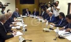 جلسة للجنة الاقتصاد والتجارة والصناعة غدا