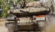الجيش الإسرائيلي قصف موقعا لحماس شمالي غزة ردا على تعرض قواته لإطلاق نار