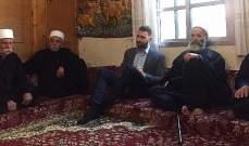 تيمور جنبلاط جال على قرى في الشوف وتابع قضايا انمائية وحياتية