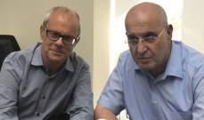 """عراجي التقى نكد مؤكدا تضامنه مع """"كهرباء زحلة"""": لتعميم هذا النموذج الناجح"""