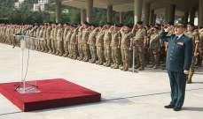 قائد الجيش بأمر اليوم لعيد المقاومة والتحرير: لن نستكين حتّى تحرير كامل أرضنا