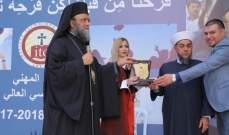 منصور لخريجي المعهد المهني الأرثوذكسي: كونوا أمناء لوطنيتكم وحافظوا عليها