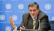 المنسق الخاص للأمم المتحدة بلبنان رحب بإقرار الموازنة: فرصة للبدء بالإصلاحات
