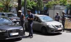 قوى الأمن تقيم حواجز توعوية بمناسبة اسبوع المرور العربي