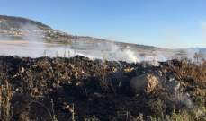 الدفاع المدني:إخماد حريق أعشاب وأشجار في زحلة وحريق مكب للنفايات في خربة قنفار