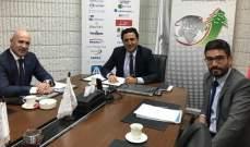 زمكحل عرض مع سفير الأرجنتين لتعزيز التعاون التجاري: لبنان الباب الماسية للشرق الأوسط