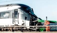 ارتفاع عدد ضحايا حادث القطار الدنمارك إلى 8 قتلى