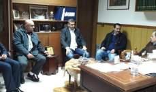 """وفد """"التيار الوطني"""" قضاء صيدا وضع البزري في أجواء زيارة باسيل للزهراني"""