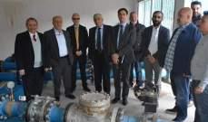 جولة جنوبية لمدير مكتب بيروت بالوكالة الفرنسية للتنمية برفقة قبلان