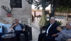 رعد زار رئيس بلدية حارة صيدا وبحث معه في قضايا عامة وأخرى تهم البلدة