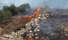 إخماد حريق داخل شقة سكنية في فاريا و3 حرائق أعشاب في يارون وكونين وشارون