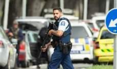 الشرطة بنيوزيلاندا تعلن العثور على متفجرات في مركبات اعترضتها
