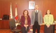 أيوب بحث مع دوما تفعيل التعاون الأكاديمي بين لبنان وفرنسا