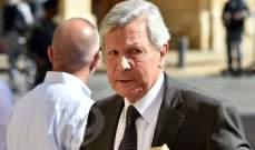 غانم: لجنة الادارة ستستمع الى جريصاتي ومجلس القضاء لبحث الخلاف القائم