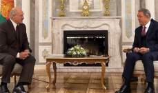 أكار التقى لوكاشينكو: تعاون تركيا مع بيلاروسيا سيستمر في المجالات كافة