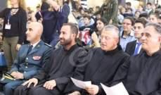 مدرسة مار شربل في درعون تحتفل بالاستقلال بحضور ممثل قائد الجيش