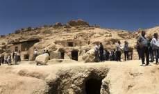 الكشف عن 3 مقابر في مصر يعود تاريخها إلى نحو 3500 سنة