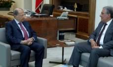 الرئيس عون استقبل رئيس مجلس شورى الدولة القاضي هنري الخوري