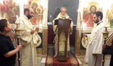 المطران كفوري ترأس قداس الفصح بحاصبيا: نأمل أن تكون قيامة المسيح هي قيامة لبنان