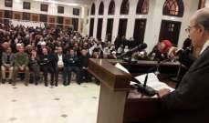 الخليل: قرار اجراء الانتخابات النيابية هو قرار وطني سياسي لا عودة عنه