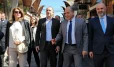 وصول رئيس بلغاريا وعقيلته الى جبيل