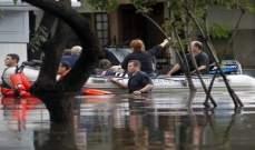ارتفاع عدد المصابين في فيضانات كراسنودار إلى 724 شخصا