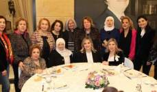 كلودين عون روكز أكدت أهمية دعم الإبداع النسائي العربي وتبادل الخبرات بينهن