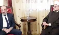 عبد الرزاق: الرئيس عون وضع لبنان على الطريق الصحيح