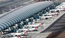 مطار دبي المركز الأول عالميا بعدد المسافرين الدوليين للعام الخامس على التوالي