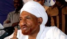 أ.ف.ب: الصادق المهدي يعلن تأييده دعوات المتظاهرين لرحيل نظام البشير