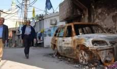 """إتفاق فلسطيني على بقاء الوضعين السياسي والأمني في """"الميّة وميّة"""" على حاله دون أي تغيير"""