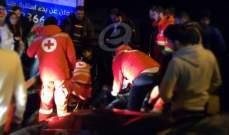 جريح في حادث سير على طريق صيدا جزين