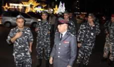 العميد شمس الدين تفقد وحدات قوى الأمن الداخلية المنتشرة في صيدا