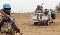 مقتل عنصر من الأمم المتحدة في غرب إفريقيا الوسطى بعد معارك مع مسلحين