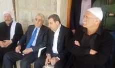 أبو فاعور:استهداف جنبلاط تقوم به جهات محلية لكن بإيحاءات خارجية