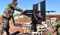 الجيش السوري قضى على مجموعات مسلحة حاولت التسلل باتجاه مناطق آمنة بريف حماة