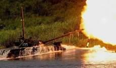 العمل على إنشار أكبر حوض مائي اصطناعي خاص بتجربة الدبابات في روسيا