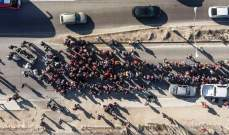 وصول أكثر من 1500 شخص من قافلة المهاجرين في المكسيك إلى الحدود الأميركية