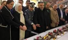 """افتتاح مهرجان """"صيدا الفرح"""" لمناسبة عيدي الميلاد ورأس السنة في سوق صيدا التجاري"""